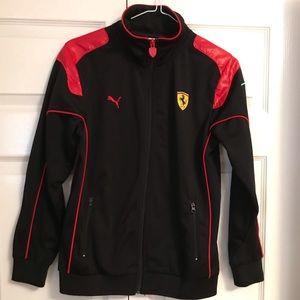 Puma Ferrari boys jacket sizeM Sport life style